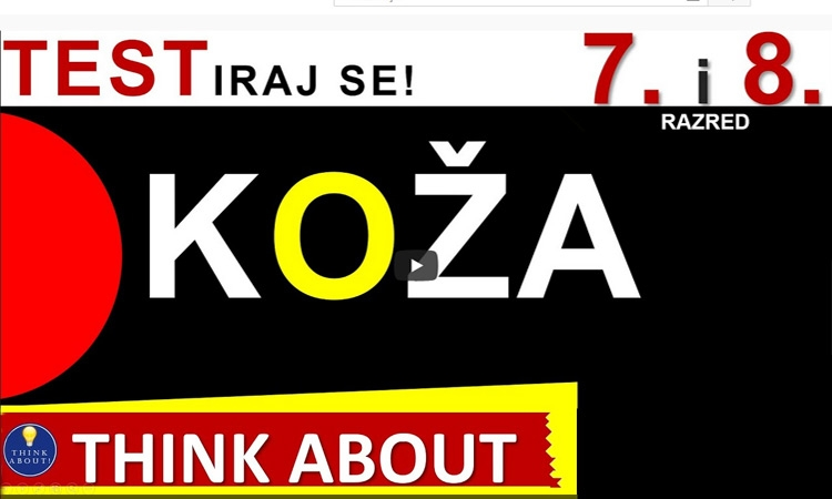Koža - Think About (7.r.)
